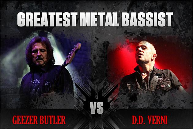 Geezer Butler vs. D.D. Verni