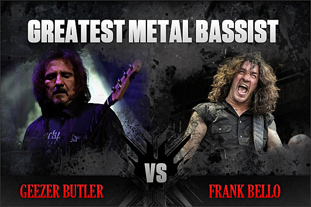Geezer Butler vs. Frank Bello