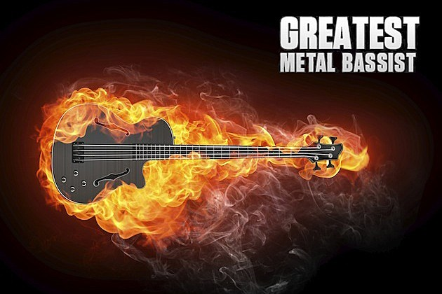 Greatest Metal Bassist Graphic