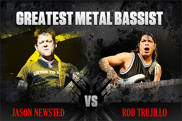 Jason Newsted vs. Rob Trujillo