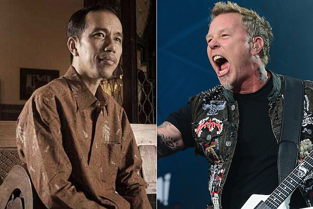 Joko Widodo / James Hetfield
