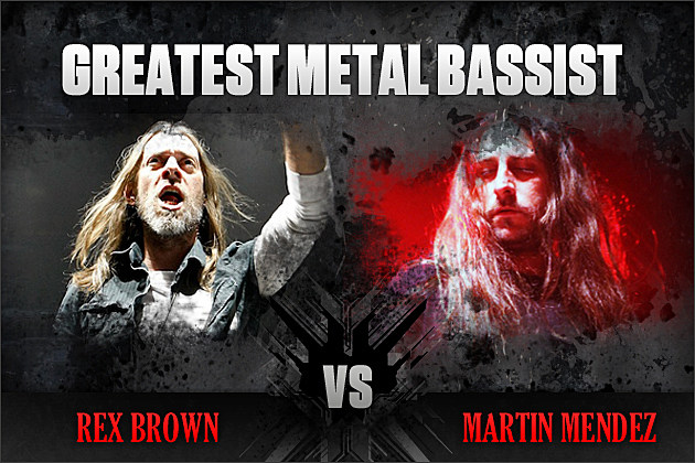Rex Brown vs. Martin Mendez
