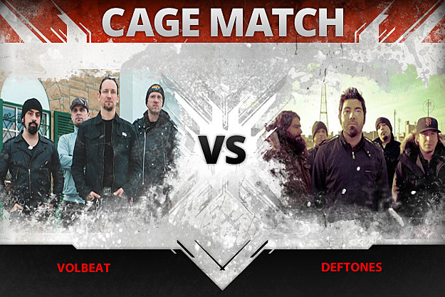 Volbeat vs Deftones