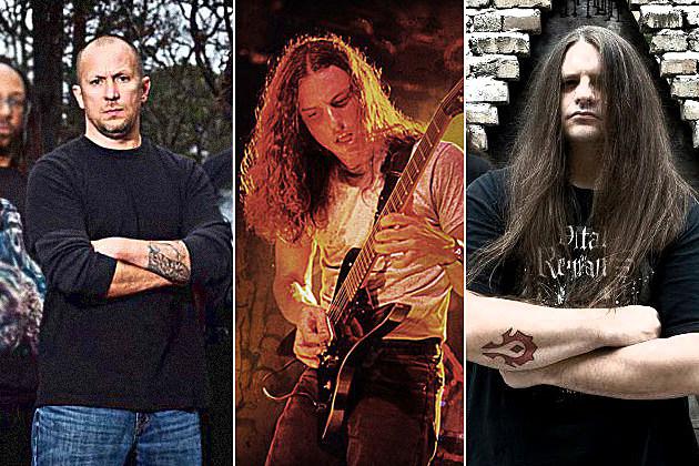Frank Mullen, Chuck Schuldiner, George 'Corpsegrinder' Fisher