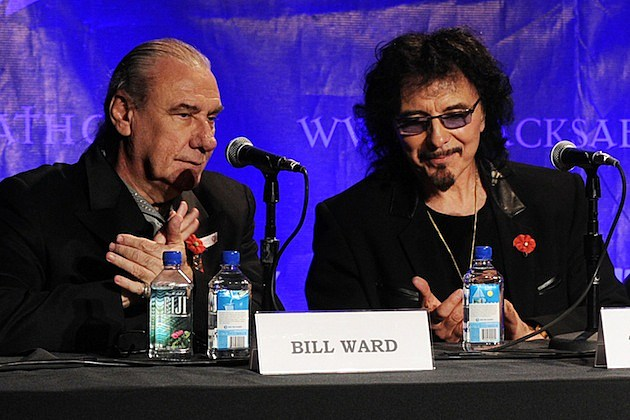 Bill Ward and Tony Iommi