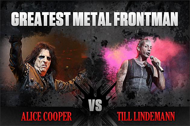 Alice Cooper vs. Till Lindemann