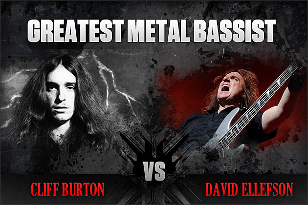 Cliff Burton vs. David Ellefson