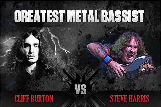 Cliff Burton vs. Steve Harris