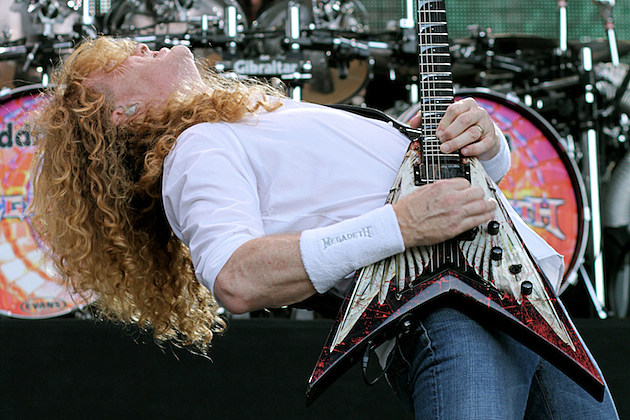Interview With :    Dave Mustaine, American Musician