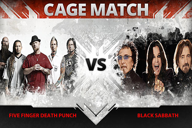 Five Finger Death Punch vs Black Sabbath
