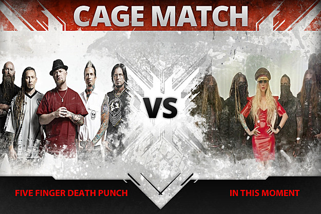 Five Finger Death Punch vs In This Moment