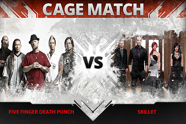 Five Finger Death Punch vs Skillet