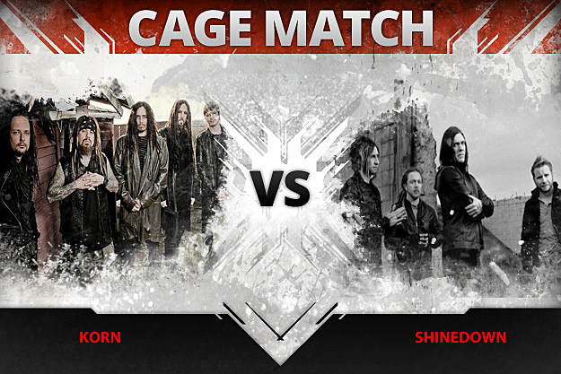 Korn vs Shinedown