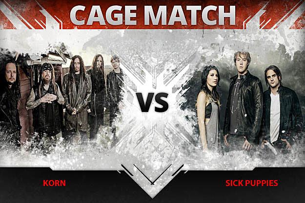 Korn vs Sick Puppies