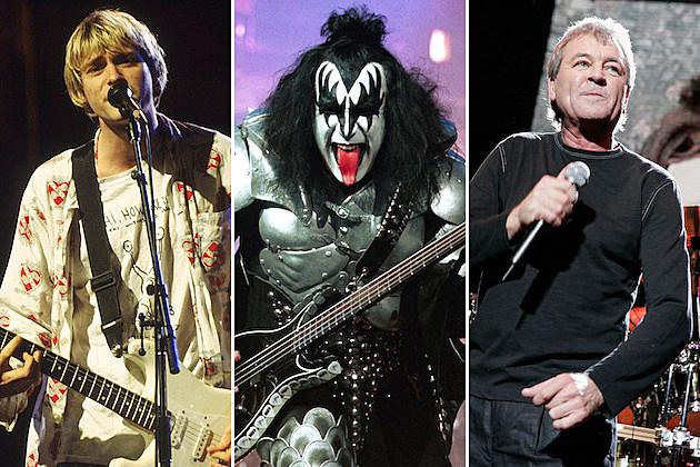 Kurt Cobain / Gene Simmons / Ian Gillian