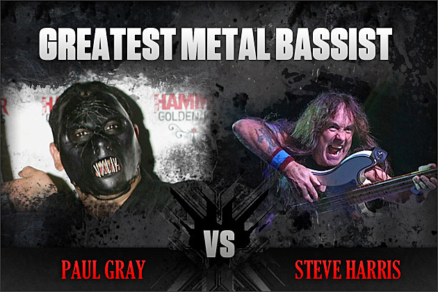 Paul Gray vs. Steve Harris