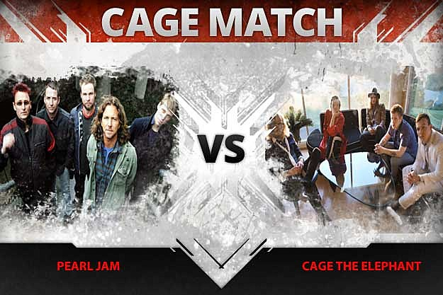 Pearl Jam vs Cage the Elephant