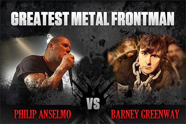 Philip Anselmo vs. Barney Greenway