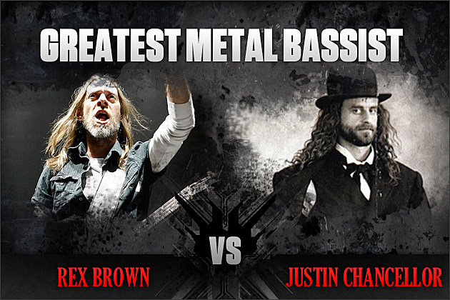 Rex Brown vs. Justin Chancellor