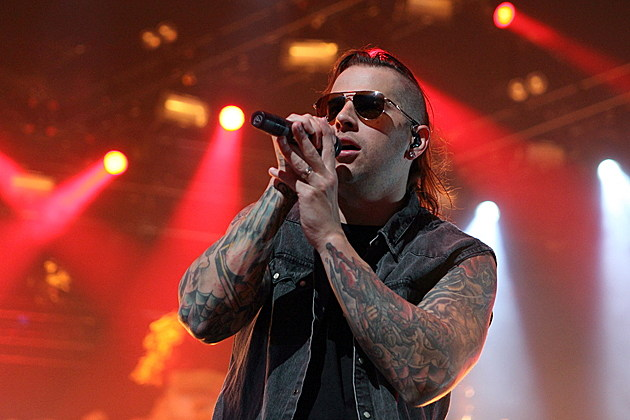 M Shadows 2014 Avenged Sevenfold