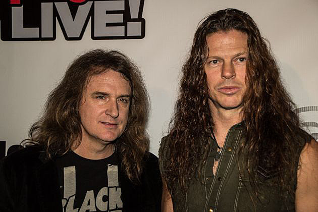 Megadeth David Ellefson Chris Broderick