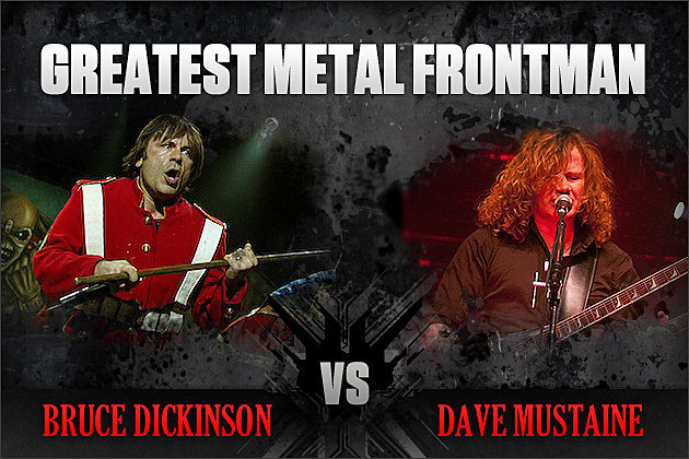 Bruce Dickinson vs. Dave Mustaine