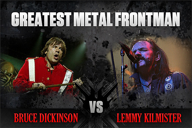 Bruce Dickinson vs. Lemmy Kilmister
