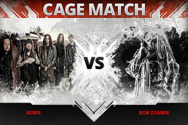 Korn vs Rob Zombie
