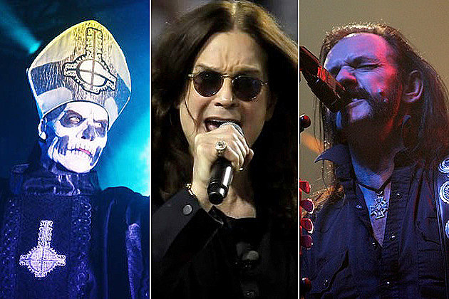 Papa Emeritus, Ozzy Osbourne, Lemmy Kilmister