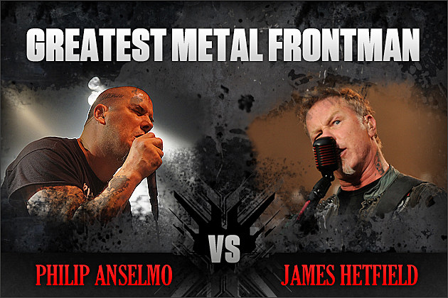 Philip Anselmo vs. James Hetfield