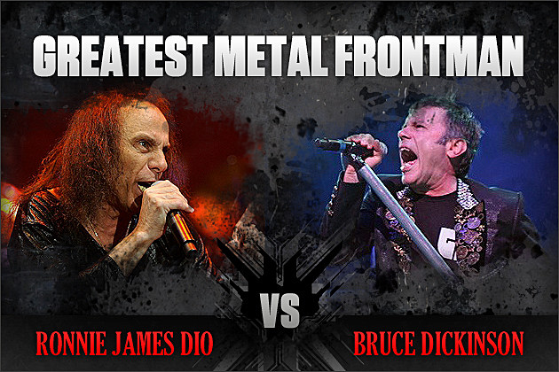 Ronnie James Dio vs. Bruce Dickinson