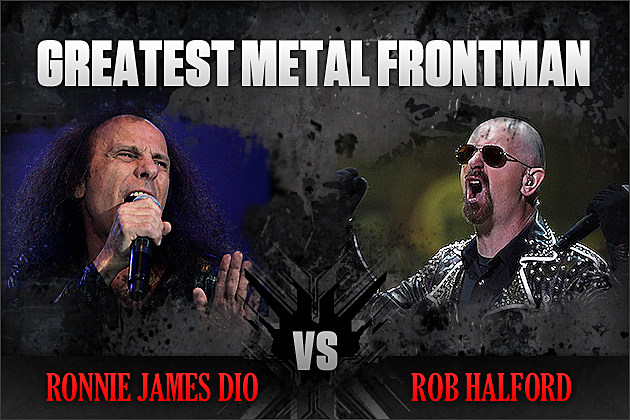Ronnie James Dio vs. Rob Halford