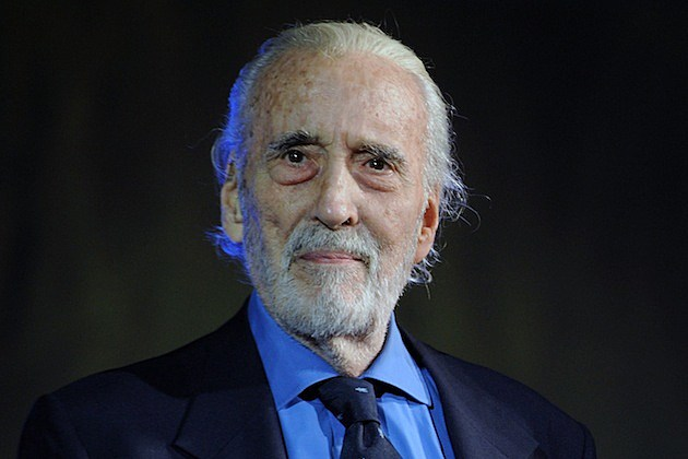 CHRISTOPHER LEE, Iconic Actor + Heavy Metal Hero, Dies at 93