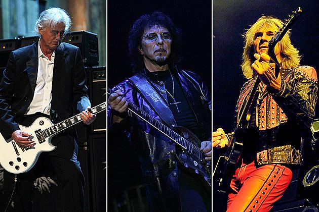 Jimmy Page, Tony Iommi, Glenn Tipton