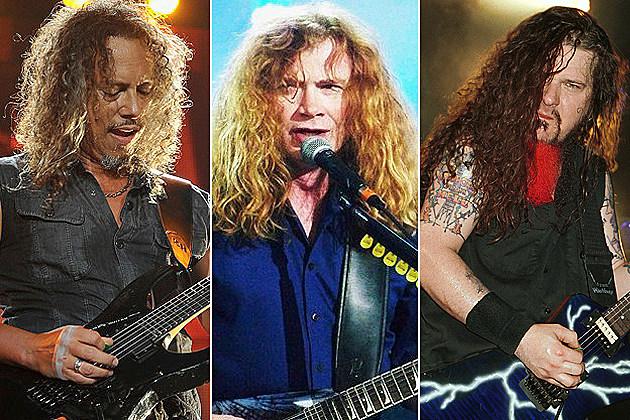 Kirk Hammet, Dave Mustaine, Dimebag Darrell