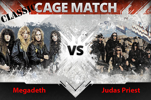 Megadeth vs Judas Priest