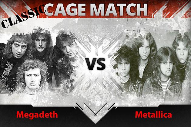 Megadeth vs Metallica Classic Cage Match