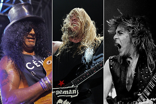 Slash, Jeff Hanneman, Randy Rhoads