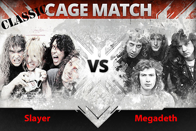 Slayer vs Megadeth Classic Cage Match