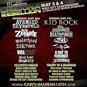 Carolina Rebellion 2014