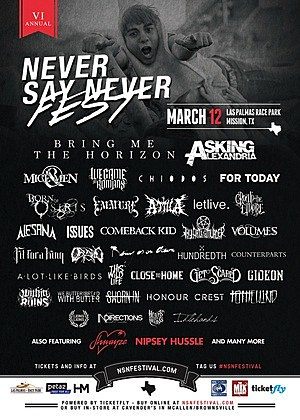 Never Say Never Festival 2014