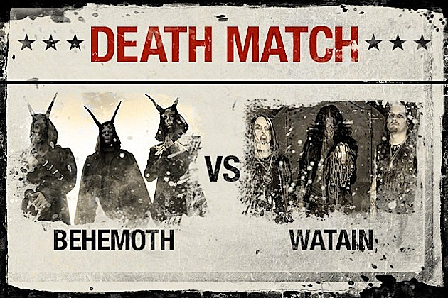 Behemoth vs. Watain
