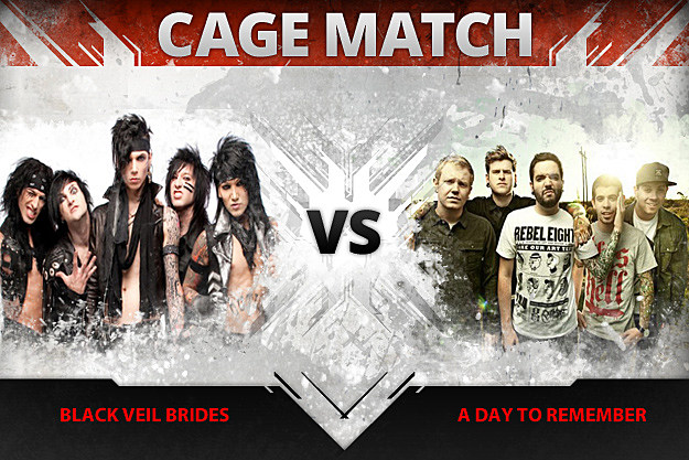 Black Veil Brides vs A Day to Remember