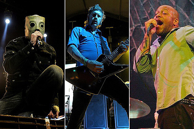 Corey Taylor, Bill Kelliher, Howard Jones