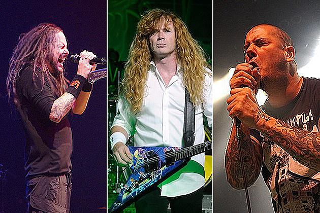 Jonathan Davis, Dave Mustaine, Phil Anselmo