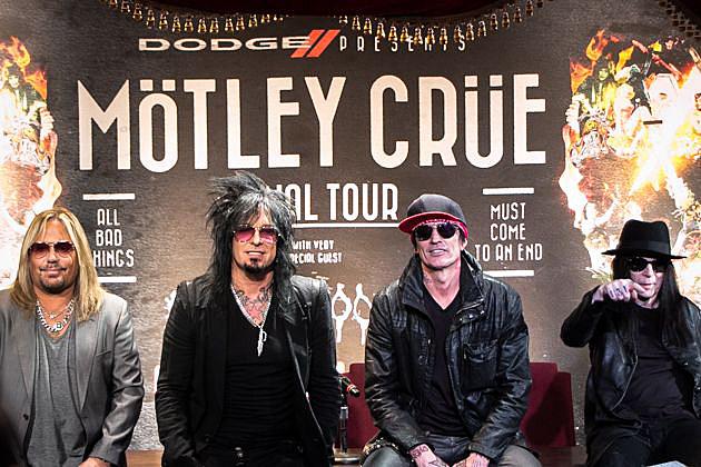 Motley Crue Press Conference