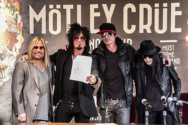 Motley Crue Press Conference