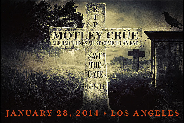 Motley Crue Save the Date