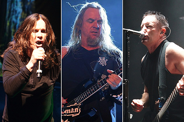 Ozzy Osbourne Jeff Hanneman Trent Reznor