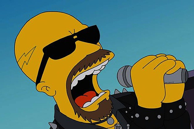 Rob Halford on 'The Simpsons'